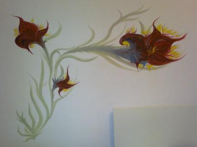 Lilien in Kinderzimmer
